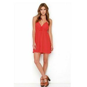 SIP OF SANGRIA RED DRESS